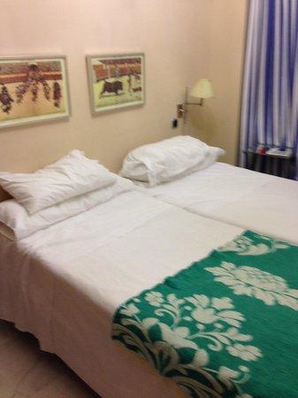 Corral de San Jose : La camera da letto (a sinistra c'era un ampio armadio ...)