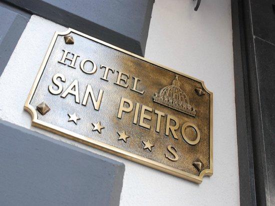 Hotel San Pietro : Detail