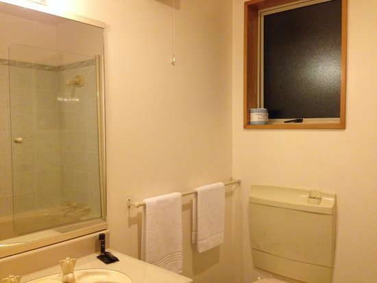 Ambassador Motor Lodge: bathroom