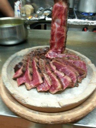 Il Panigaccio : bistecca ventaglio