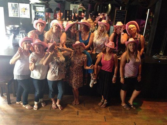 76 Hen Events @ The Copper Rooms: Wedding dance routine