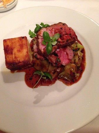Reform restaurant: The lamb was amazing