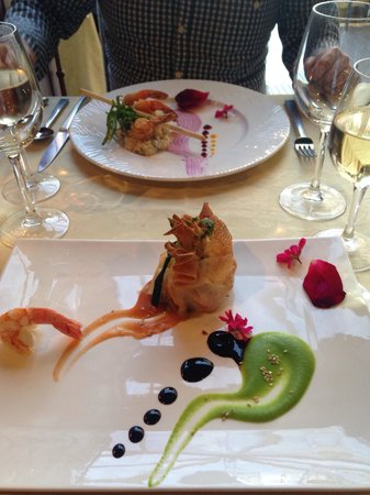 Restaurante Mozart : Beautiful starters