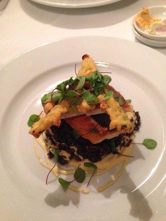Reform restaurant: Seabass
