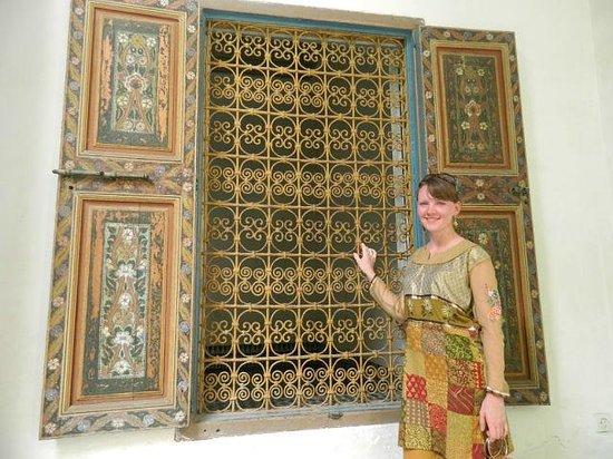 Palais de la Bahia : окно