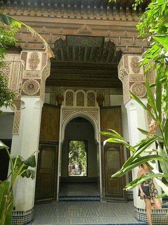 Palais de la Bahia : дворик