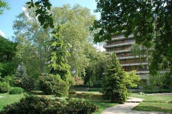 Danubius Health Spa Resort Margitsziget: Территория рядом с отелем