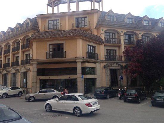 hotel ciudad de ubeda jaen: