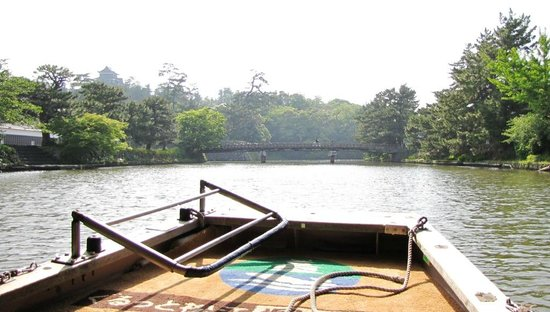 Matsue Horikawa Pleasure Boat : 松江城も見れます