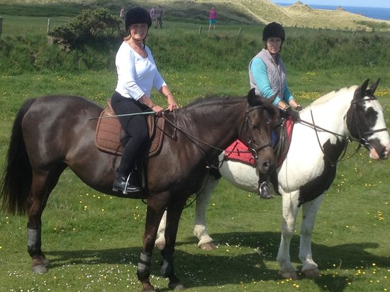 Newquay Riding Stables: Great views on horseback