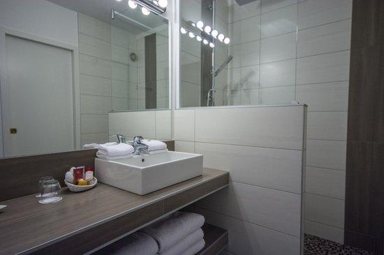 Hotel Le Floreal : Salle de douche