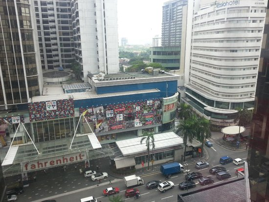 Grand Millennium Kuala Lumpur : view from my room