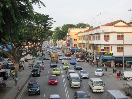 Hotel 81 - Star: Geylang street, evening
