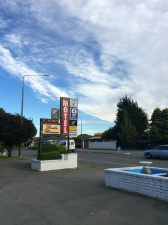 Belle Bonne Motel: motel sign
