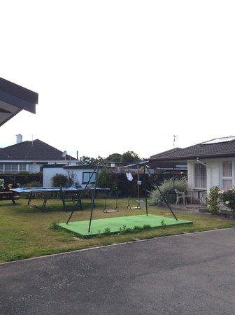 Belle Bonne Motel: play area