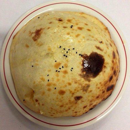 Coeur de l'Inde : Nan au fromage