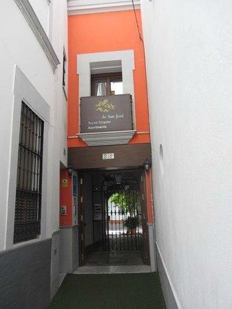 Corral de San Jose: L'ingresso della struttura.