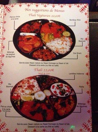 Coeur de l'Inde : Nos thalis pour decouvrir la cuisine indienne