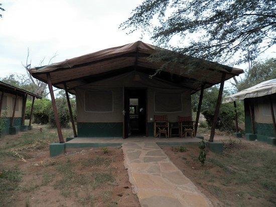 Sentrim Tsavo East: Tente