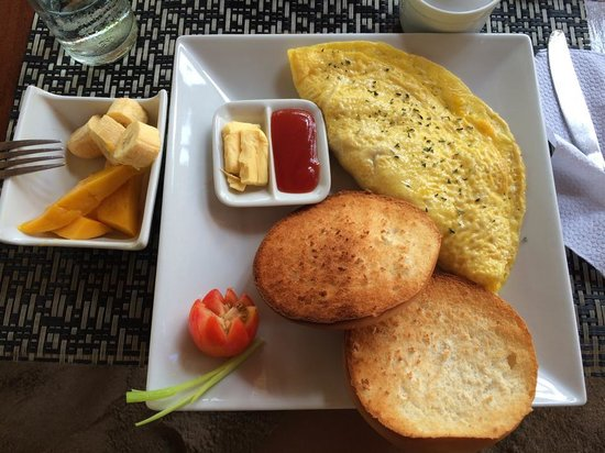 Kermit Surf Resort Siargao: Breakfast