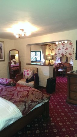 Roundabout Hotel: Bedroom