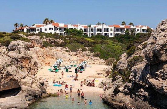 Apartamentos Roc Oasis Park: Vue de la plage