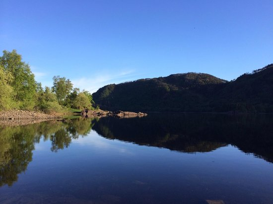 The Inn at Grasmere: Thirlmere lake