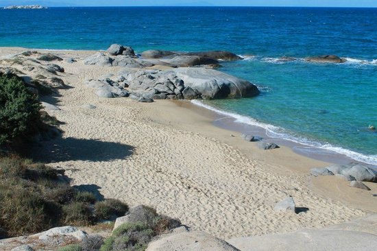 Agia Anna Beach Secluded Round The Rocks At