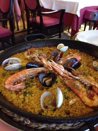 Sa Cranca: Paella de marisco