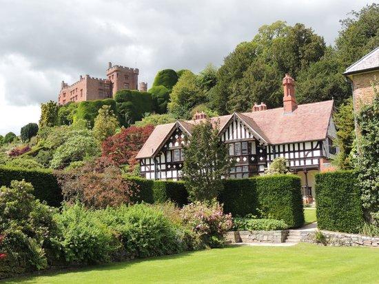 Powis Castle and Garden: Powis Castle taken from the Garden