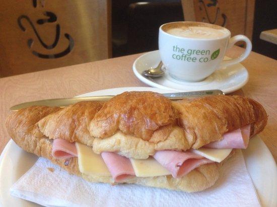 The Green Coffee Company: Creative Croissant