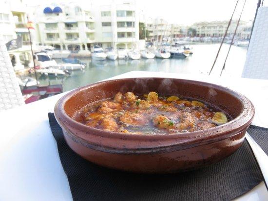 Toro Puerto Marina : Prawn Pipi
