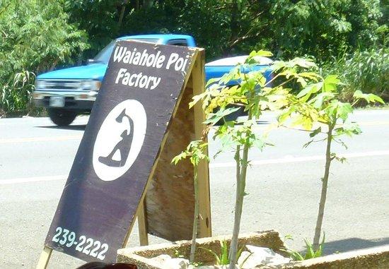 Waiahole Poi factory : Гавайская еда в придорожном кафе