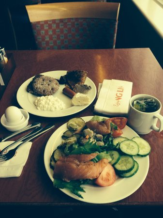 Viking Line - Day Cruises: 朝食バイキング