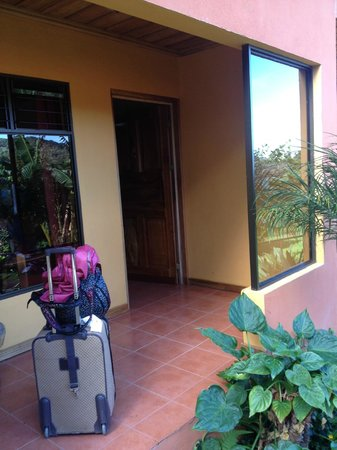 Hotel Cipreses Monteverde Costa Rica: My room entrance