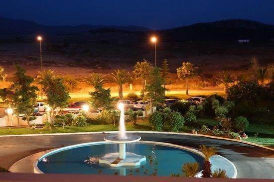Iberostar Creta Marine: In front of the hotel at night