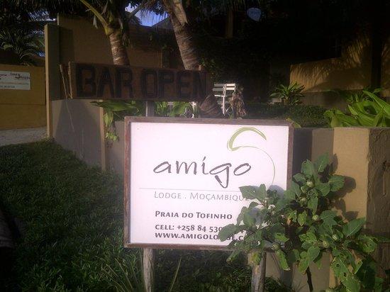 Amigo Lodge: Entrance
