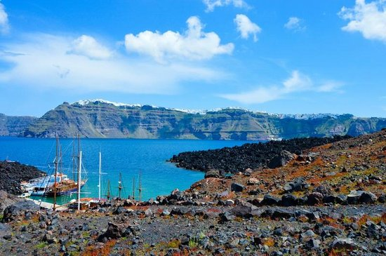 Santorini Volcano: Вулкан