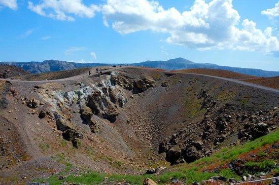Santorini Volcano: На вулкане