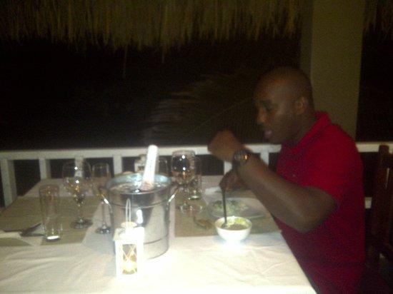 Amigo Lodge : Dinner