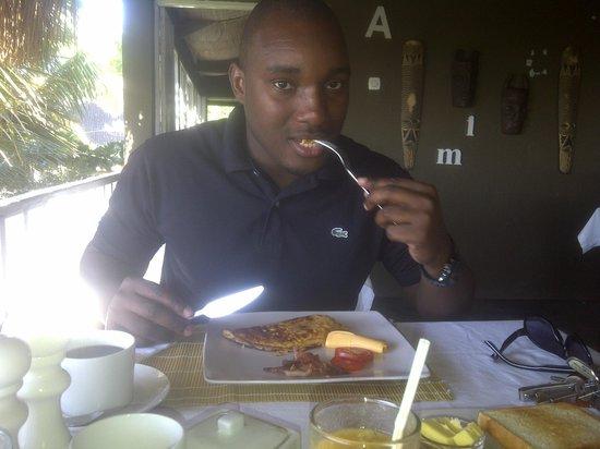 Amigo Lodge : Breakfast