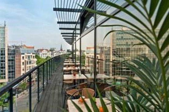 Come Inn Berlin Kurfürstendamm Opera: Breakfast Restaurant Terrace