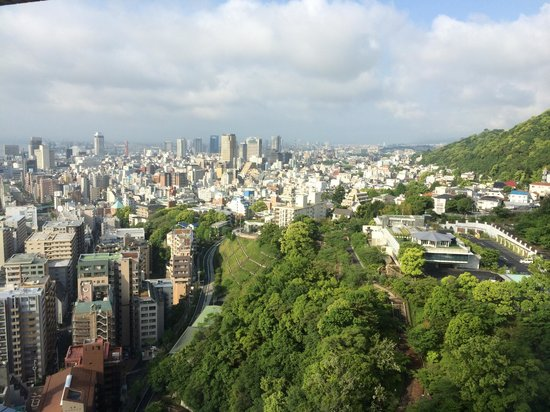 "ANA Crowne Plaza Kobe: ""on a clear day"""