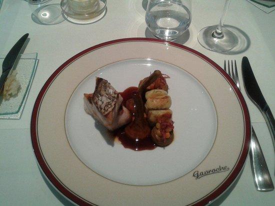 Le Gavroche : Le plat à la carte