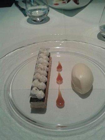 Le Gavroche : Le dessert à la carte au parfum de café et praliné