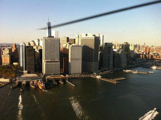 Millennium Hilton New York Downtown: Вид на Манхеттен