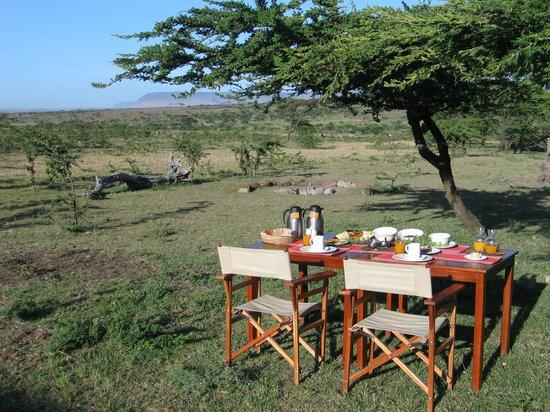 Kandili Camp: Desayuno al aire libre