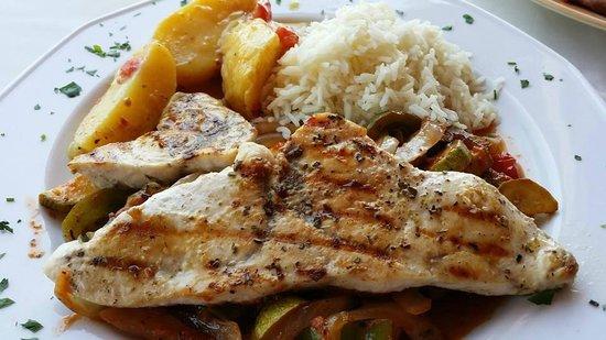 Captains Restaurant: Schwertfisch