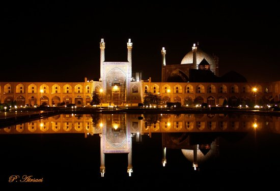 Imam Mosque(Shah Mosque) at night