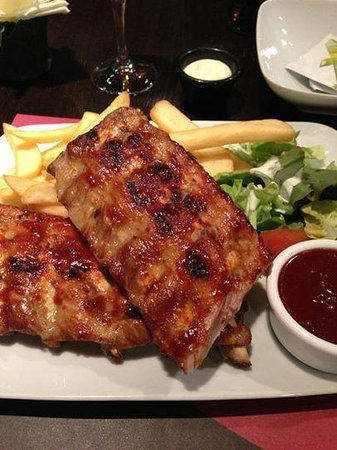 Boston Steak House: BBQ Ribs
